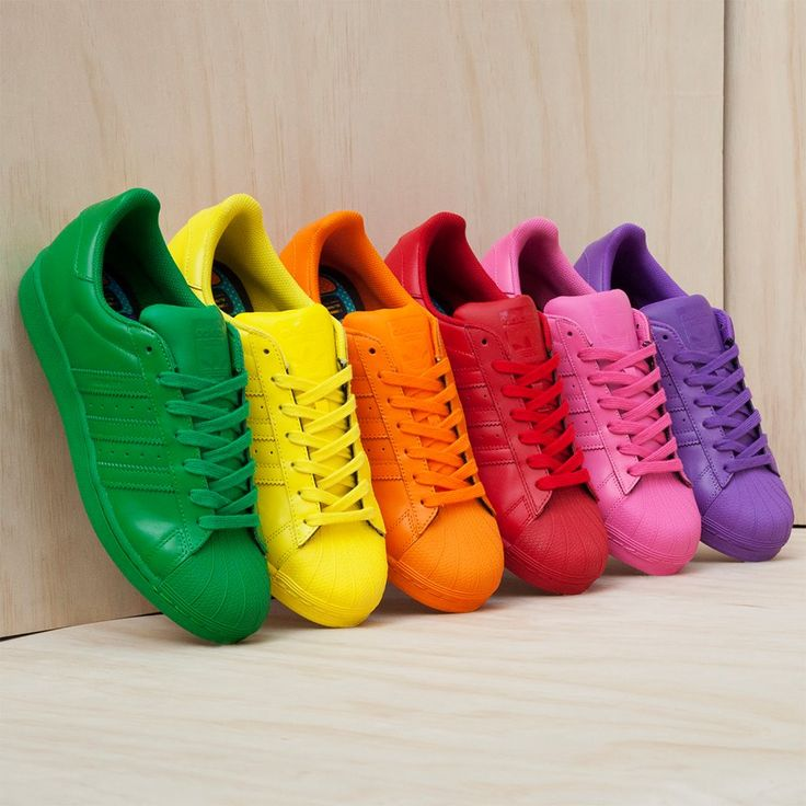 adidas superstar de colores